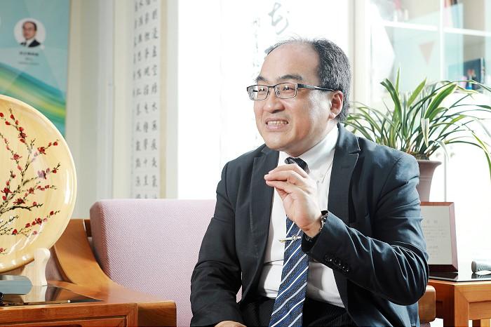 經濟部工業局長兼TJPO主任呂正華接受訪談